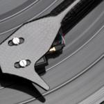 project-tête sur vinyl